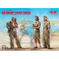 US WASP (1943-1945) (3 figurines)