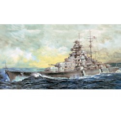 German Bismarck Battleship...