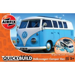 QUICK BUILD VW Camper Van blue
