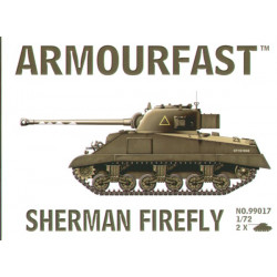 Sherman Firefly (2 kits) 1/72