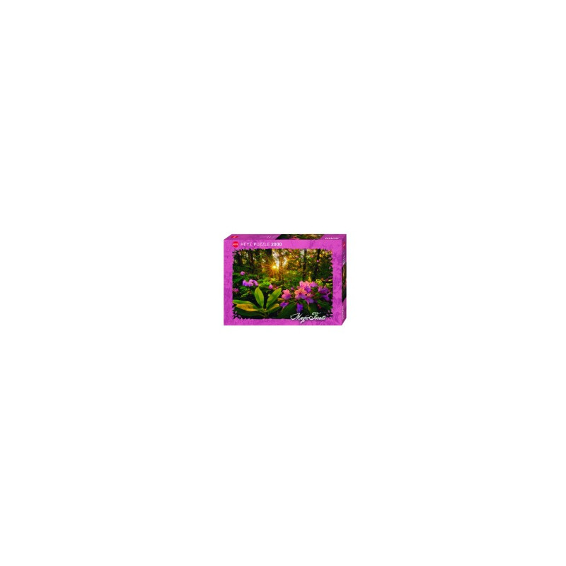 Puzzle 2000p magic forest rhododendron heye