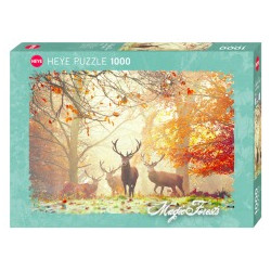 Puzzle 1000p Stags heye