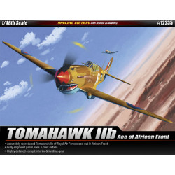 P-40 Tomahawk IIB Ace of African Front 1/48 - Academy