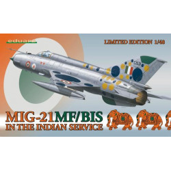 MiG-21MF/ BIS in the Indian service 1/48 - Eduard