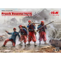 French Zouaves (1914) 1/35